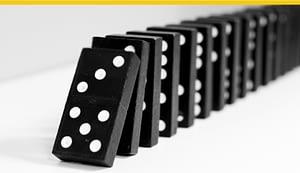 A showcase success is the first domino in a successful RPA initiative.