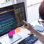 RPA development team analyzing code