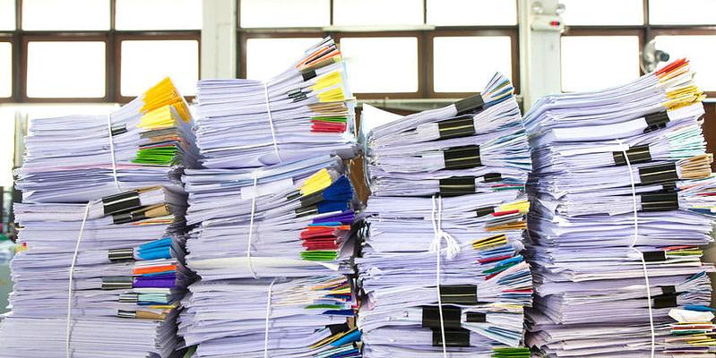 high volume paperwork